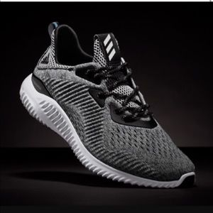 Adidas Women's Alpha Bounce Grey Mess Shoes Size 8